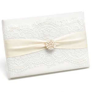 Splendid Elegance Wedding Guest Book image