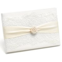 Splendid Elegance Wedding Guest Book