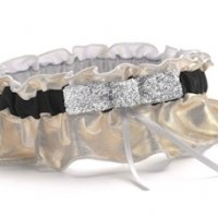 Metallic Sparkle Garter
