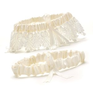 Ivory Timeless Treasure Garter Set image