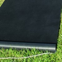 Black Aisle Runner (Indoor or Outdoor Use)