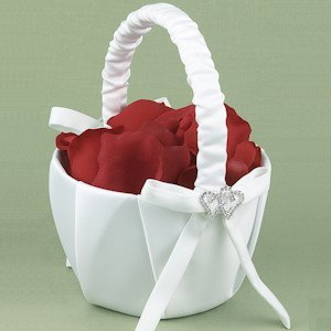 With All My Heart Flower Girls Basket image