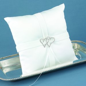 With All My Heart Ring Bearers Pillow image
