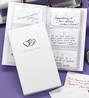 Linked Hearts Well Wisher Guest Book Set image