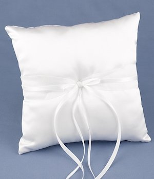 Simply Sweet Ring Pillow image