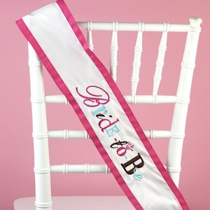 Whimsical Bride to Be Sash image