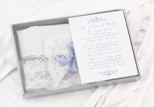 Blue Bow Hanky image