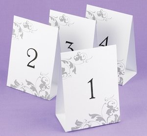 Tent Style Table Number Set image