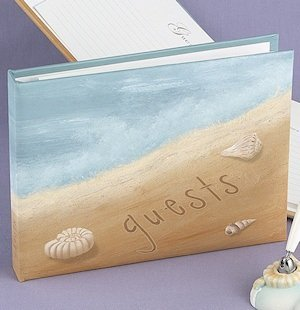 Seaside Jewels Beach Themed Guest Book image