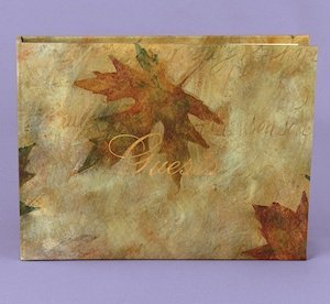 Maple Leaf Autumn Wedding Guest Book image