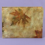 Maple Leaf Autumn Wedding Guest Book