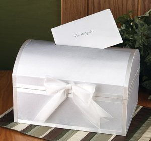 Treasure Chest Wedding Card Box image