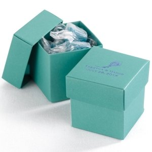 Mix and Match Personalized Jade Wedding Favor Box (25 Pack) image