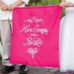 Elegant Here Comes the Bride Sign (7 Colors)
