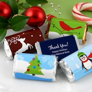 Custom Hershey Holiday Miniatures (Many Designs) image