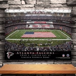 Personalized NFL Stadium Canvas Print image