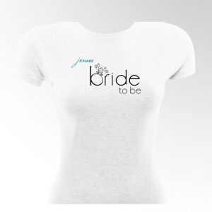 Personalized Bride to Be Shirts image