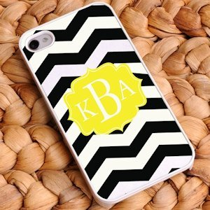 Personalized Chevron iPhone Cases - 9 Designs image