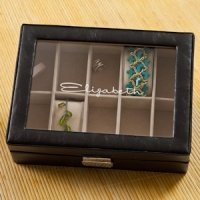 Personalized Compartmentalized Jewelry Box