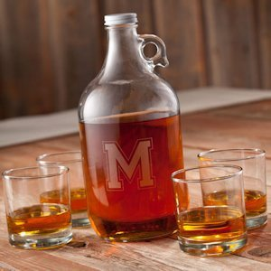 Personalized Whiskey Growler Set image