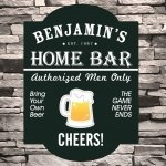 Personalized Classic Tavern Signs (8 Designs)