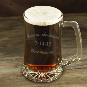 Engraved 25oz Groomsman Sports Mug image