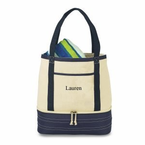 Personalized Cotton Insulated Tote and Cooler image