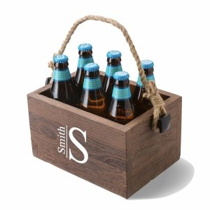 Monogrammed Beer Caddy image