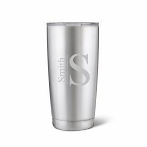 Personalized 20 oz. Stainless Steel Double Wall Tumbler image