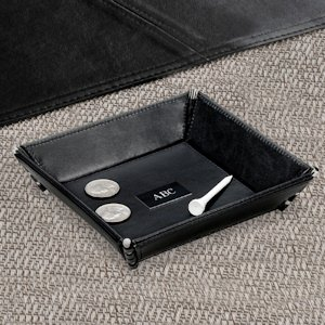 Customized Leather Valet Tray image