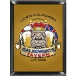 Personalized English Bulldog Pub Sign
