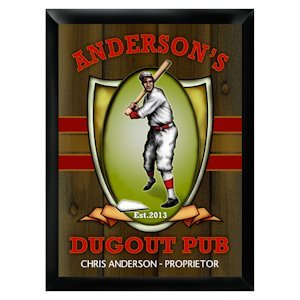 Personalized Dugout Pub Sign image