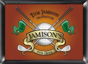 Personalized 19th Hole Golf Sign image