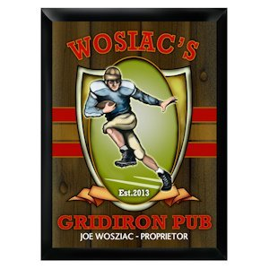 Personalized Gridiron Pub Sign image