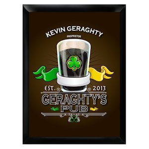 Personalized Irish Pub Sign image