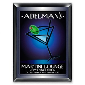 Personalized 'After-Hours' Martini Lounge Sign image