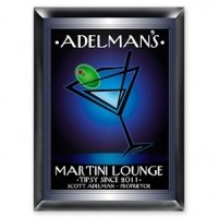 Personalized 'After-Hours' Martini Lounge Sign