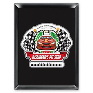 Personalized Racing 'Pit-Stop' Pub Sign image