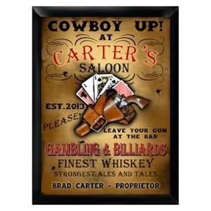 Personalized Saloon Pub Sign image