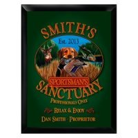 Personalized Sportsman's Sign