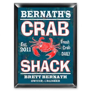 Personalized 'Crab Shack' Pub Sign image