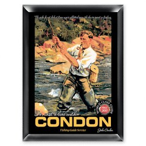 Personalized Fishing Guide Pub Sign image