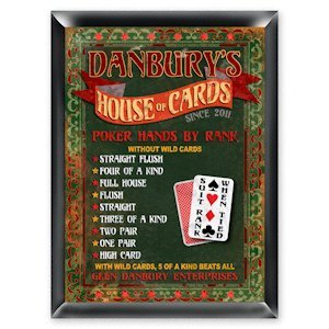 Personalized 'House of Cards' Pub Sign image