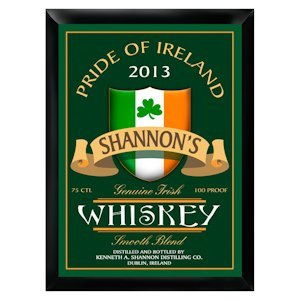 Personalized Irish Whiskey Pub Sign image