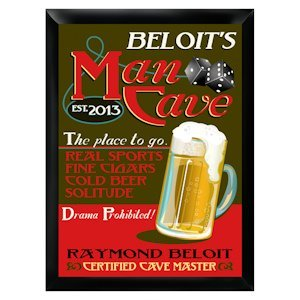 Personalized Man Cave Pub Sign image