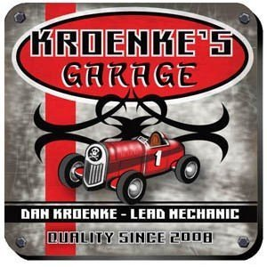 Personalized 'Garage' Coaster Set image
