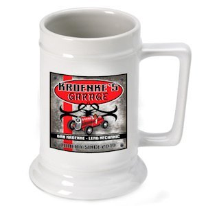 Personalized 'Garage' Beer Stein image