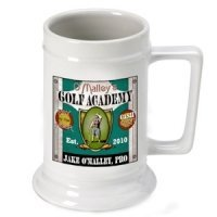 Personalized Golf Academy Beer Stein