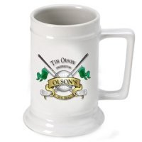 Personalized 19th Hole Golf Beer Stein