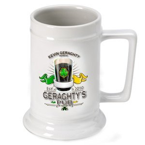 Personalized Irish Beer Stein image